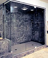 SAMPLE FRAMELESS SHOWER ENCLOSURE